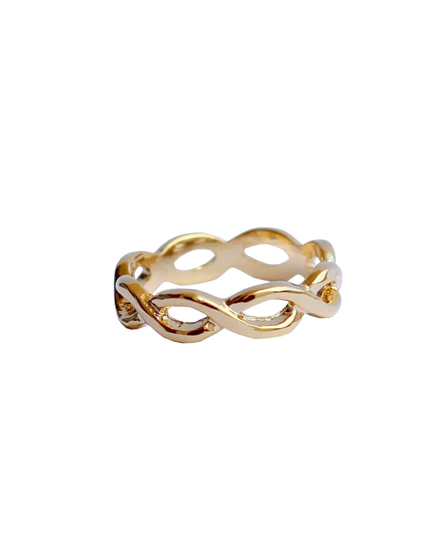 be be chic jewelry gold ring infinity bechick