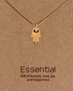 MUST HAVE series: Gold Crystal Hamsa