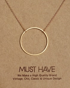 MUST HAVE series: Gold Karma Pendant