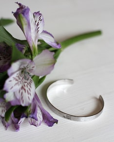 Náramek Silver Best Friends Bangle