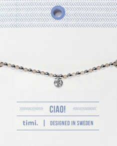 MAKE A WISH series: Semi Precious Quartz Bracelet