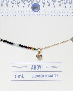 MAKE A WISH series: Gold Half Stone Colours Bracelet