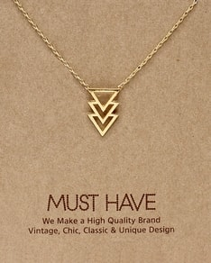 MUST HAVE series: 3 Gold Triangle