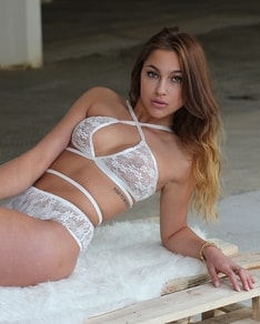 White lace set BeChick ❤