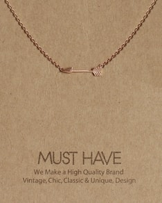 MUST HAVE series: Rose Gold Arrow