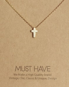 MUST HAVE series: Delicate Gold Cross