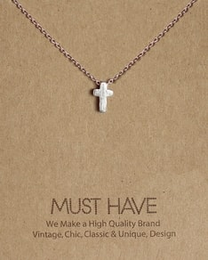 MUST HAVE series: Delicate Silver Cross