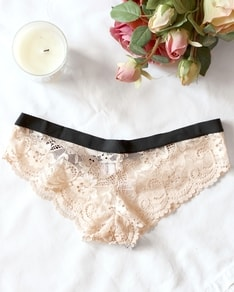 Blush Lace panties Scallop BeChick ❤