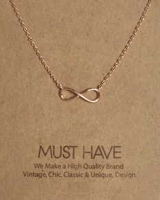 MUST HAVE series: Rose Gold Infinity Pendant