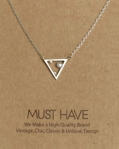 MUST HAVE series: Silver Triangle Pearl