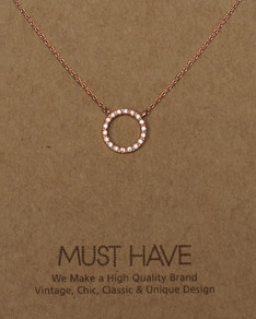 MUST HAVE series: Rose Gold Crystal Karma