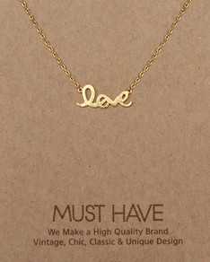 MUST HAVE series: Gold Love