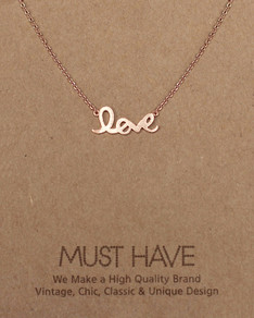 MUST HAVE series: Rose Gold Love