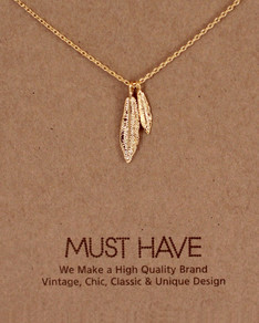 MUST HAVE series: Gold 2 Feathers