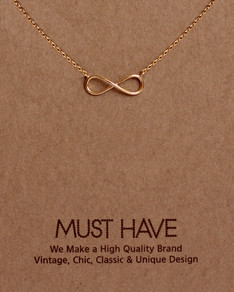 MUST HAVE series: Gold Infinity Pendant