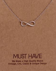 MUST HAVE series: Silver Infinity Pendant