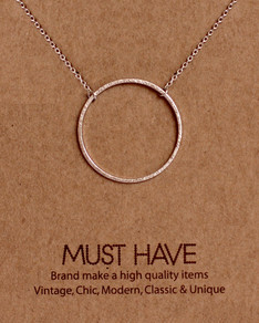 MUST HAVE series: Silver Karma Pendant