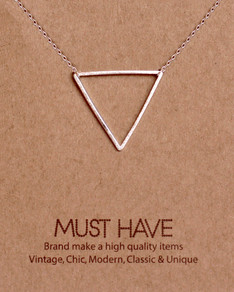 MUST HAVE series: Silver Triangle Pendant